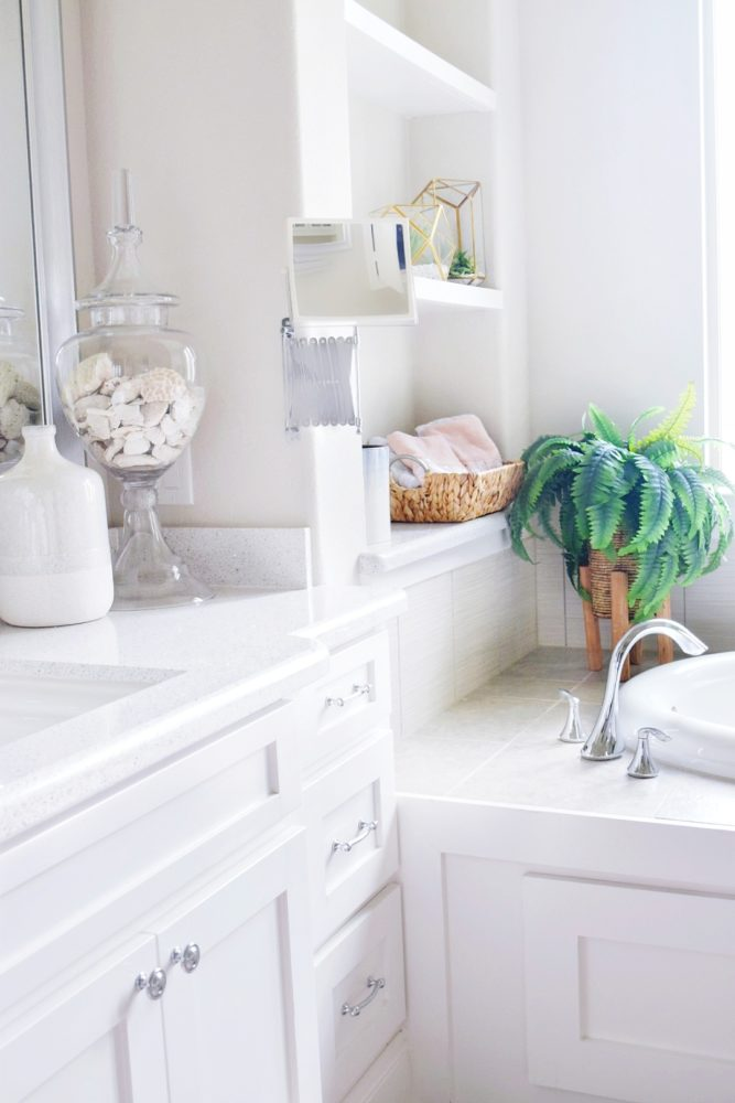 Decorate A Bathroom Beautiful Master Bathroom Refresh On A Budget We Re The Joneses